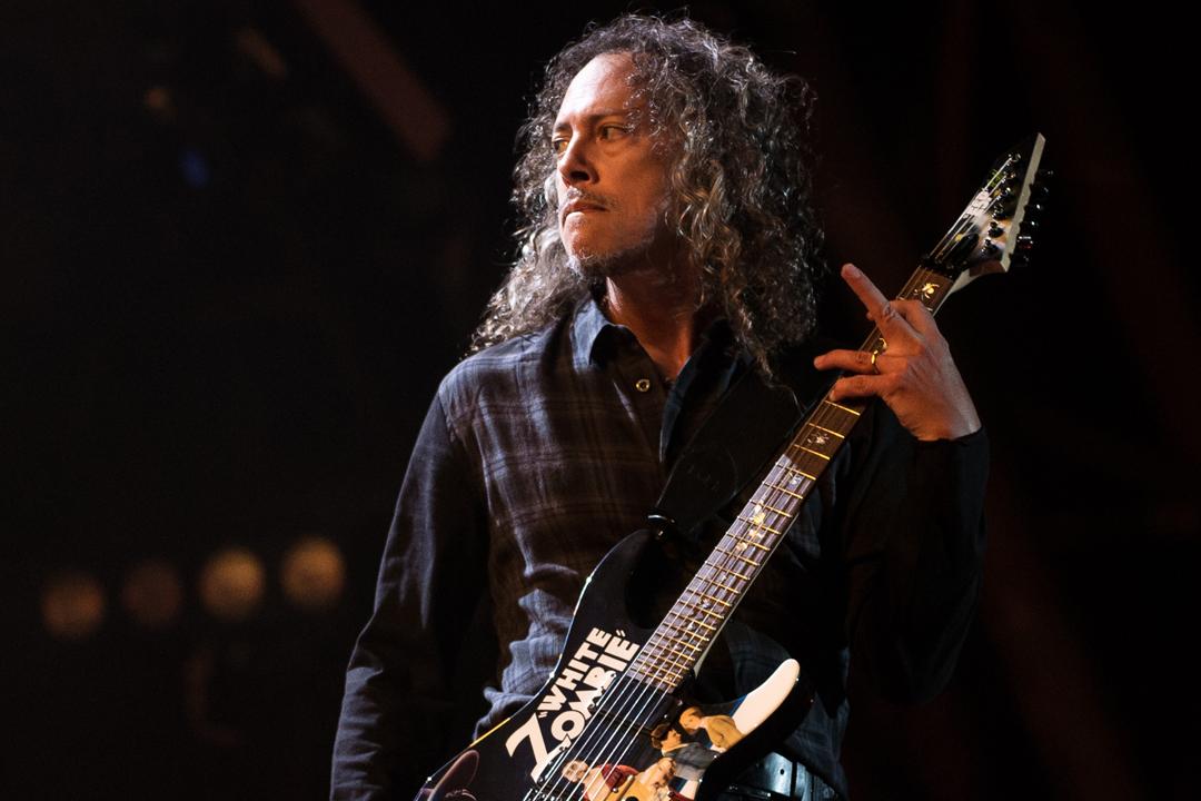 """Kirk Hammett dice que su posible proyecto solista """"no sería en absoluto un álbum de metal"""""""