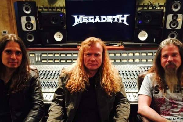 Megadeth anunció un nuevo disco para fin de año y una gira mundial para 2016