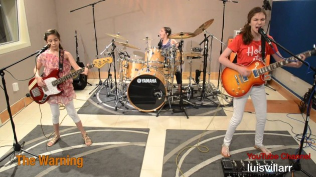 The Warning, tres hermanas mexicanas que rockean con Metallica