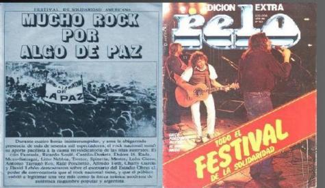 A 33 años del Festival de la Solidaridad Latinoamericana