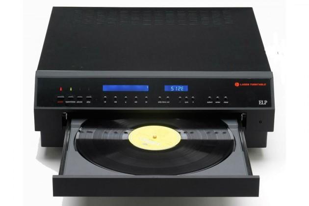 """Lanzan una """"bandeja láser"""" para escuchar discos de vinilo"""