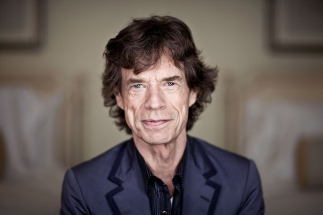 Mick Jagger, Ronnie Wood, Nick Mason y Beverley Knight, a beneficio de Nepal