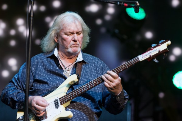 Falleció Chris Squire, bajista y fundador de Yes