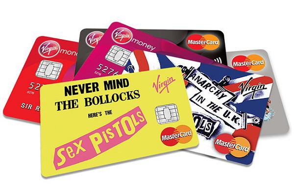Las tarjetas de crédito de los Sex Pistols: De la anarquía al capitalismo