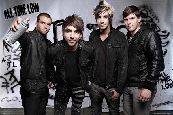 La banda estadounidense All Time Low regresa a la Argentina
