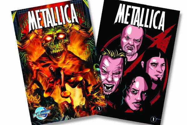 La biografía de Metallica ha sido convertida en historieta