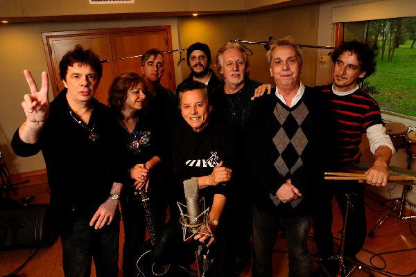 Palito Ortega graba un álbum con la elite del rock nacional