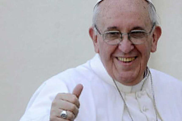 "El Papa Francisco lanza un tema de rock progresivo, ""Wake Up! Go! Go! Forward"""