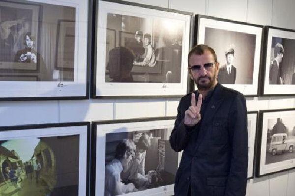 Ringo Starr expone en Londres sus fotografías inéditas
