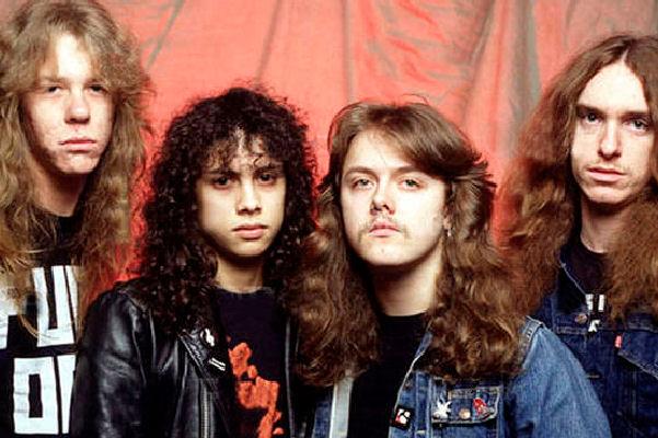 Hace 34 años, Lars Ulrich y James Hetfield fundaban Metallica