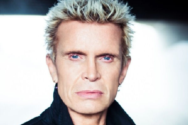 Billy Idol anuncia una serie de shows en Las Vegas para 2016