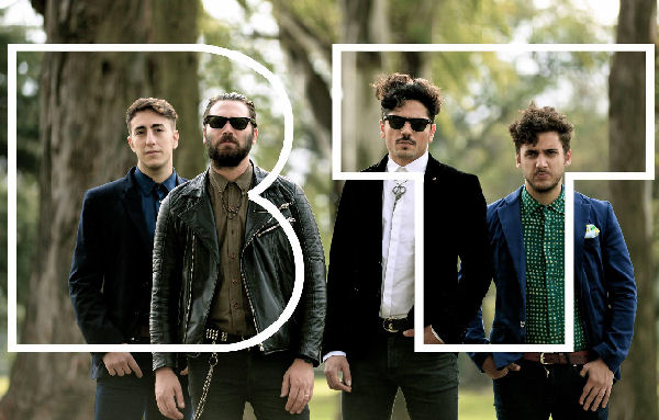 La banda rosarina Buenas Tardes estrenó el videoclip de «La piel»