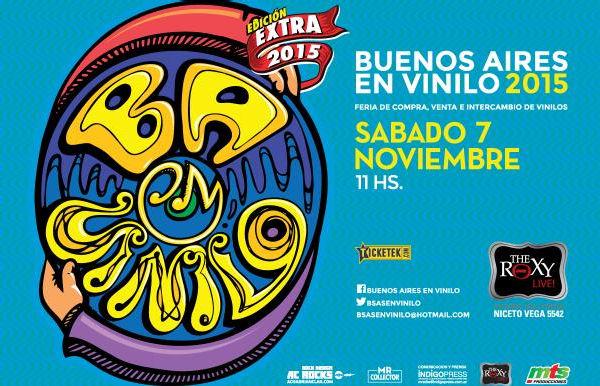 """Se viene la edición """"extra"""" de la feria """"Buenos Aires en Vinilo"""""""