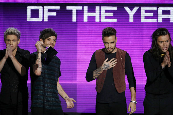 Taylor Swift y One Direction, ganadores en los American Music Awards