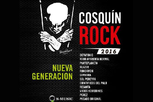 """El Nuevo Rock Argentino dice presente en el """"Cosquin Rock"""""""