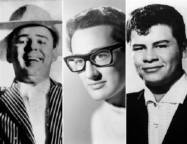 Hace 57 años fallecían en un accidente de aviación Buddy Holly, Ritchie Valens y The Big Bopper