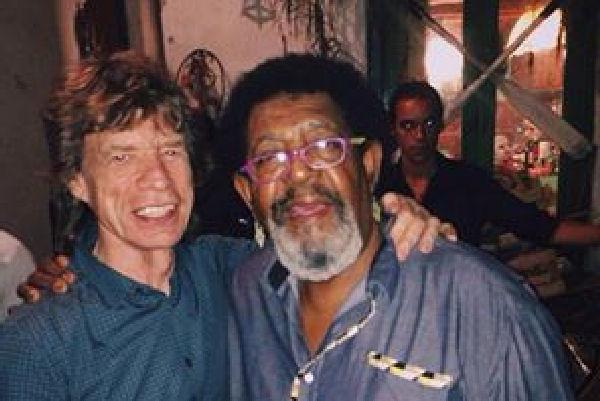 Mick Jagger bailó candombe en Uruguay con Rubén Rada