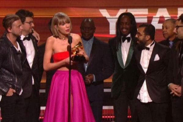 Taylor Swift, Bruno Mars, Ed Sheeran y Alabama Shakes, galardonados en los Grammy