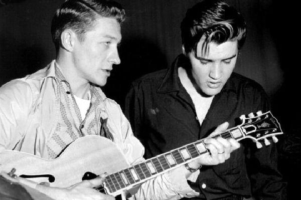 Falleció Scotty Moore, el influyente guitarrista de Elvis Presley