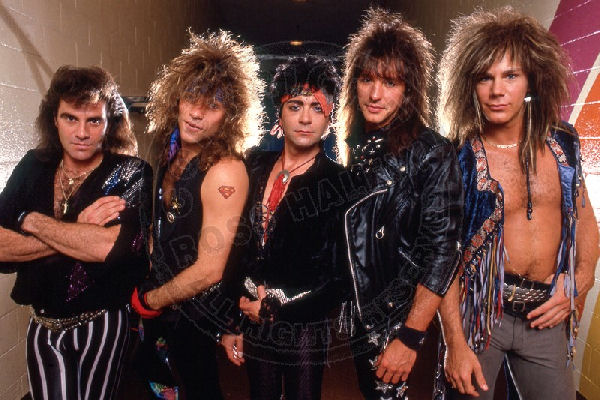 La formación original de Bon Jovi se reunirá para actuar en el Rock and Roll Hall of Fame