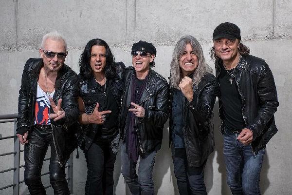 Scorpions reanuda el trabajo en un nuevo álbum de estudio