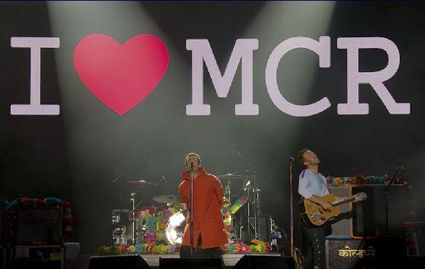 Ariana Grande y otras estrellas participaron de un festival en Manchester
