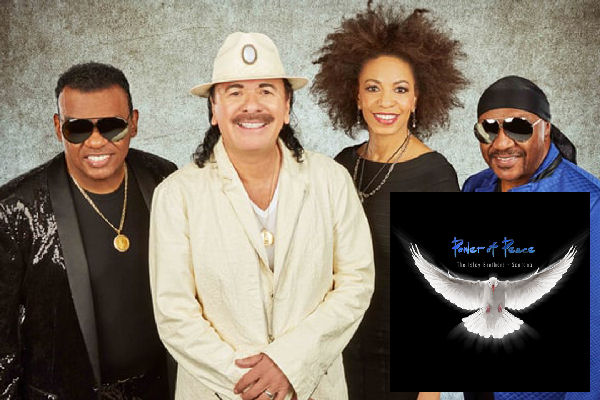 Santana y los Isley Brothers anuncian álbum conjunto, titulado «Power of Peace»