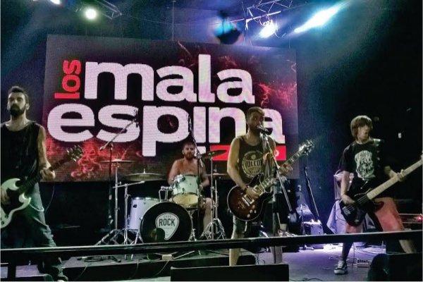 """La banda marplatense Mala Espina presentó el videoclip de """"Llueve"""""""