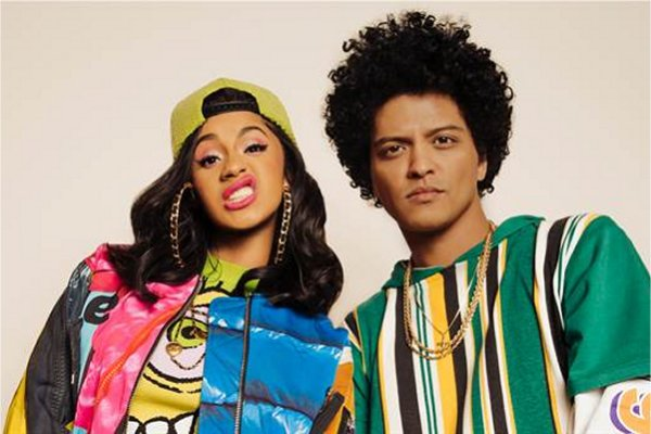 "Cardi B y Bruno Mars publicaron el single conjunto ""Please Me"""