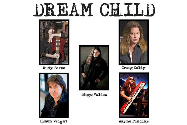 Ex miembros de Ozzy, AC/DC y Dio forman el supergrupo Dream Child
