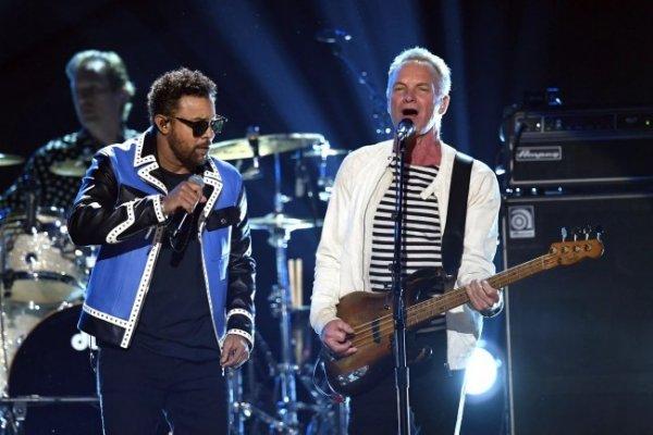 Sting y Shaggy presentaron en los Grammy su single en conjunto