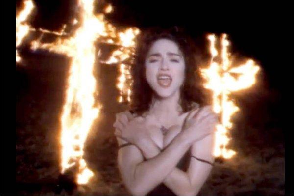 """Hace 29 años, MTV estrenaba el controversial videoclip de """"Like A Prayer"""" de Madonna"""