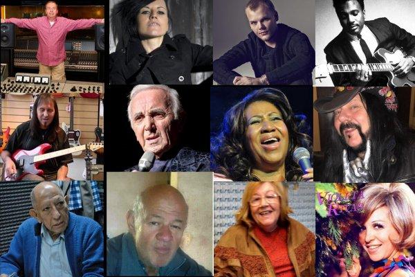 Las figuras de la música que perdimos en 2018