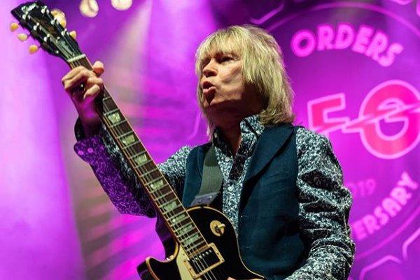 Falleció Paul Raymond, tecladista y guitarrista de UFO