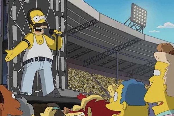 """El histórico show de Queen en el """"Live Aid"""" será recreado en """"Los Simpson"""""""