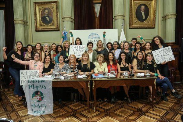 Se aprobó en el Congreso la Ley de Cupo Femenino en los escenarios