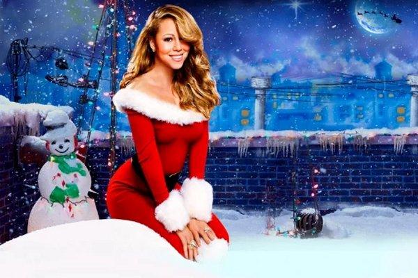 """Mariah Carey alcanza el número uno del Billboard Hot 100 con """"All I Want for Christmas Is You"""", a 25 años de su lanzamiento"""