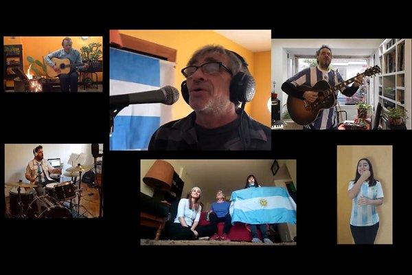 """Grandes artistas se unen en """"La Bandera de mi Patria», un homenaje a nuestra enseña con fines soldiarios"""