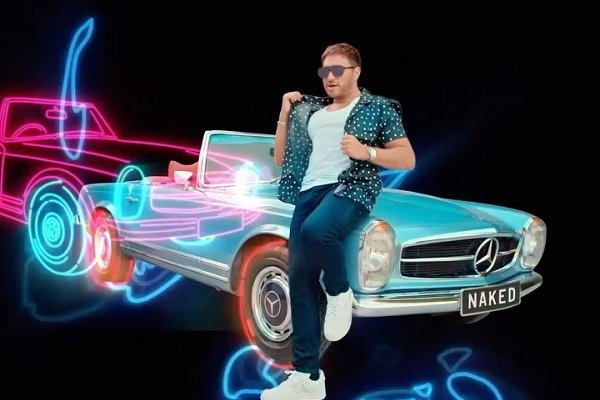 "Jonas Blue estrena el single y video ""Naked"", junto al ascendente artista pop MAX"
