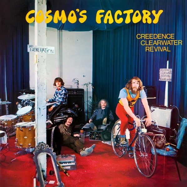Cumple 50 años «Cosmo's Factory», disco fundamental en la carrera de Creedence Clearwater Revival