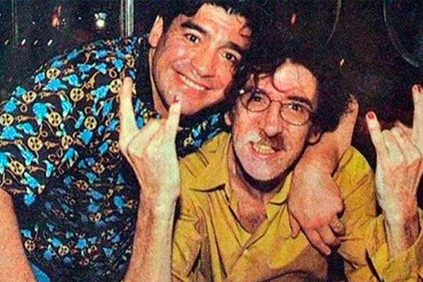 «Esperame ahí y no te equivoques con el paraíso», le «pidió» Charly García a Maradona