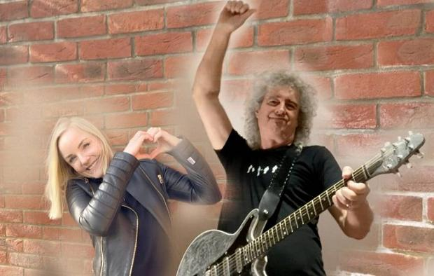 Brian May se une a Kerry Ellis para la optimista «Panic Attack 2021 (It's Gonna Be All Right)»