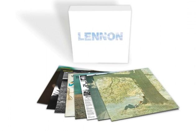 Publican una caja con los vinilos de John Lennon como solista