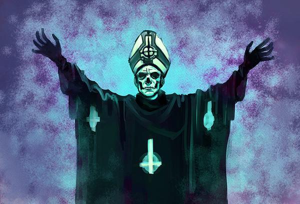 Ghost anuncia disco y la llegada de Papa Emeritus III