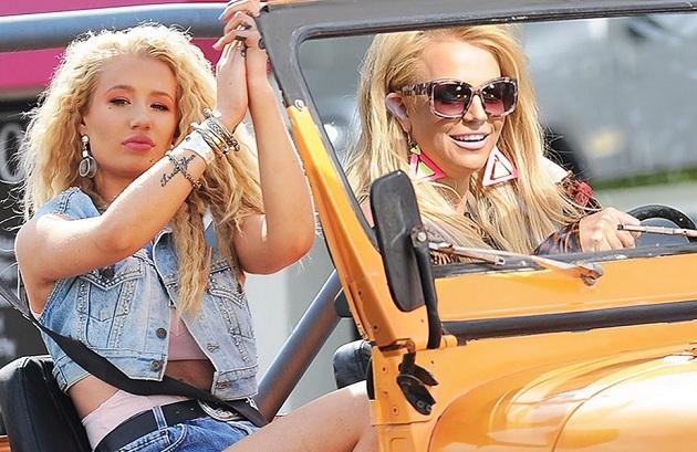 Britney Spears e Iggy Azalea presentan el videoclip de «Pretty Girls»