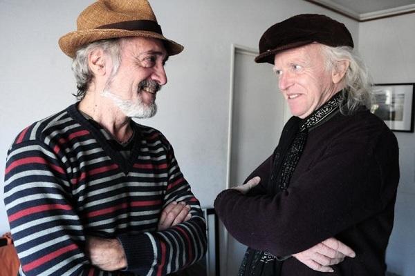 Pedro y Pablo, nuevamente juntos, graban en vivo