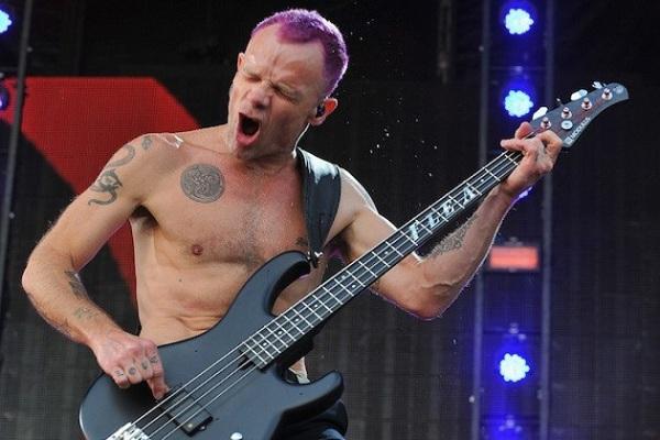 Para Flea, bajista de Red Hot Chili Peppers, el rock está muerto