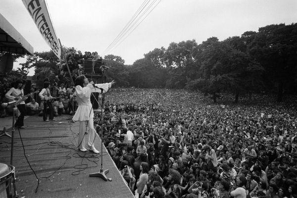Hace 46 años, los Rolling Stones daban su histórico concierto en el Hyde Park
