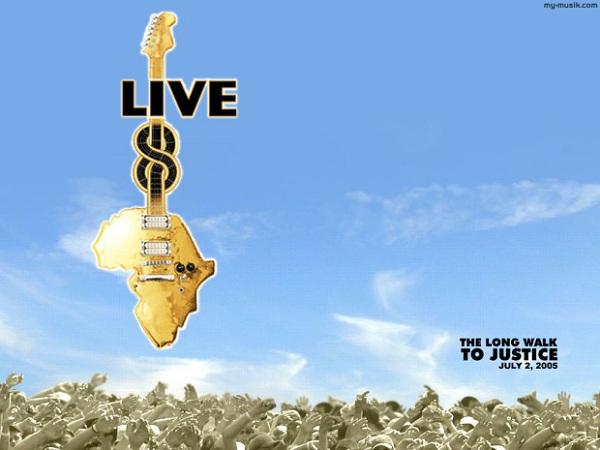 Hace 10 años se celebraban los conciertos Live 8