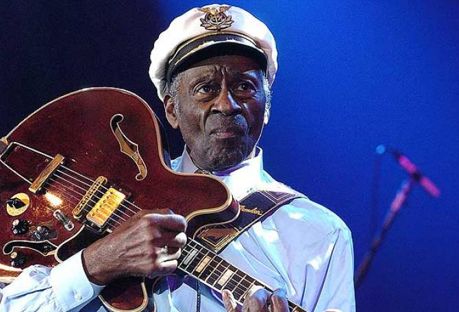 Falleció Chuck Berry, uno de los padres del rock and roll